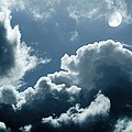 Moonlit Clouds by Detlev Van Ravenswaay