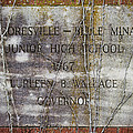 Mooresville - Belle Mina Junior High School 1967 by Kathy Clark
