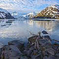 Morning Light At Portage Lake by Tim Grams
