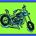 Motorbike 1c by Mauro Celotti