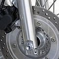 Motorcycle Disc Brake by Tony Craddock