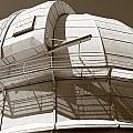 Mount Wilson Observatory Print by Lorraine Devon Wilke