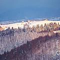Mountain Landscape In Brasov County by Gabriela Insuratelu