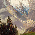 Mountain Landscape With The Grossglockner by Nicolai Astudin