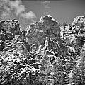 Mountain Peaks by Lisa  Spencer