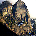 Mountains Of Yosemite . 7d6167 . Vertical Cut by Wingsdomain Art and Photography
