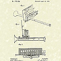 Mouth Organ 1876 Patent Art by Prior Art Design