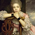 Mrs Abington As Miss Prue In Congreve's 'love For Love'  by Sir Joshua Reynolds