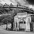 Murrayfield Stadium With War Memorial Arch Edinburgh Scotland by Joe Fox