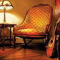 Music - String - The Chair And The Lute by Mike Savad