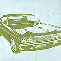 My Favorite Car 5 Print by Naxart Studio