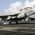 N Ea-6b Prowler Makes An Arrested by Stocktrek Images