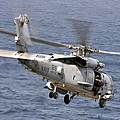 N Hh-60h Sea Hawk Helicopter In Flight by Stocktrek Images