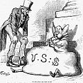 NAST: INFLATION, 1873 Print by Granger