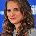 Natalie Portman At The Press Conference by Everett