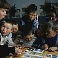 Nenets Students Must Learn Russian Print by Maria Stenzel