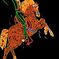 Neon Cowboy Las Vegas by Garry Gay