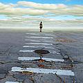 Never Ending Crosswalk by Jill Battaglia