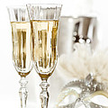 New Year Champagne by Amanda Elwell