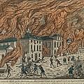 New York City Fire Of September 21-22 by Everett