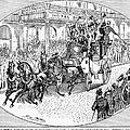 New York: Coaching, 1876 by Granger