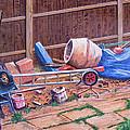 Next Doors Back Yard by Aleck Rich Seddon