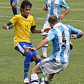 Neymar Doing His Thing IIi by Lee Dos Santos