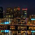 Night in the City of Brotherly Love Print by Louis Dallara