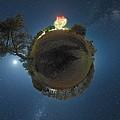Night Sky Over Parkes Observatory by Alex Cherney, Terrastro.com