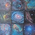 Nine Nebulae by Alizey Khan