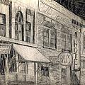 Noir Street by Mel Thompson