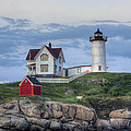 Nubble Light At Dusk by Eric Gendron