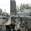 Nuclear Submarine Maintenance by Ria Novosti