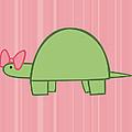 Nursery Art Girls Turtle by Christy Beckwith