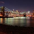 Nyc Brooklyn Nights by Nina Papiorek