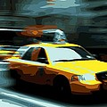 Nyc Taxi Color 16 by Scott Kelley