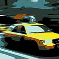 Nyc Taxi Color 6 by Scott Kelley