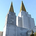 Oakland California Temple . The Church Of Jesus Christ Of Latter-day Saints . 7d11360 by Wingsdomain Art and Photography