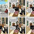 Obama N Freud I by Kevin  Marley