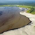 Oil Plant Settling Pond by David Nunuk