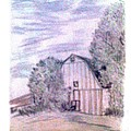 Old Barn by De Beall