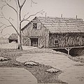 Old Barn by William Deering