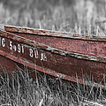 Old Boat Washed Ashore  by Joe Gee