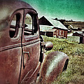 Old Car And Ghost Town by Jill Battaglia