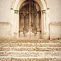 Old Church Door by Tom Gowanlock