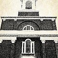 Old Church In Boston by Elena Elisseeva