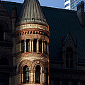 Old City Hall Turret by Matt  Trimble