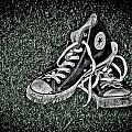 Old Converse Print by Gert Lavsen