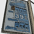 Old Full Service Gas Station Sign by Samuel Sheats