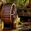 Old Mill Park Wheel by Robert Bales